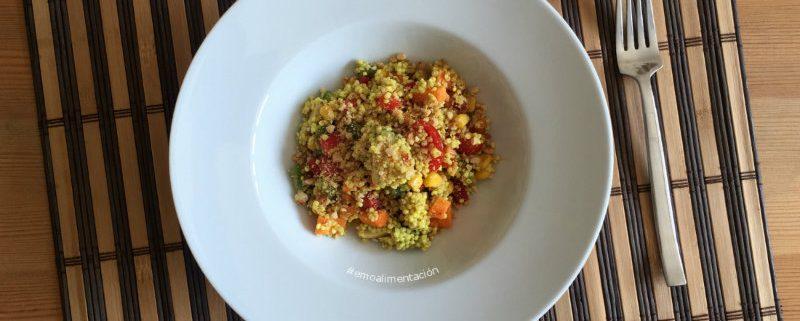 recetas con quinoa: ensalada